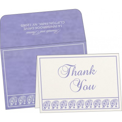 Thank You Cards - TYC-8218H