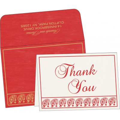 Thank You Cards - TYC-8218M