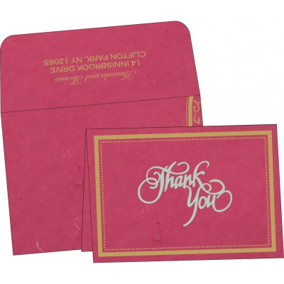Thank You Cards - TYC-8219F