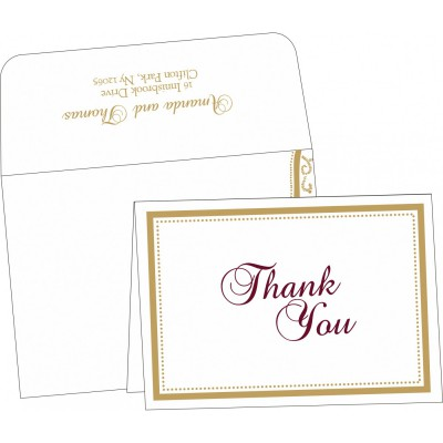 Thank You Cards - TYC-8219H