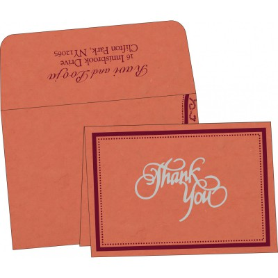 Thank You Cards - TYC-8219I