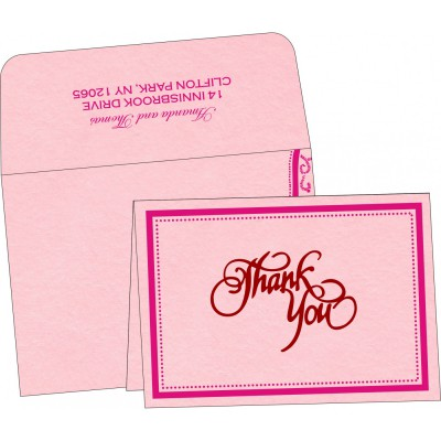 Thank You Cards - TYC-8219K