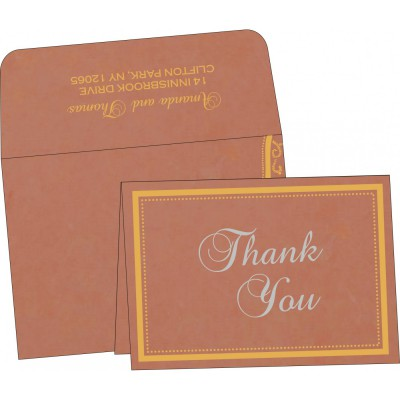 Thank You Cards - TYC-8219M