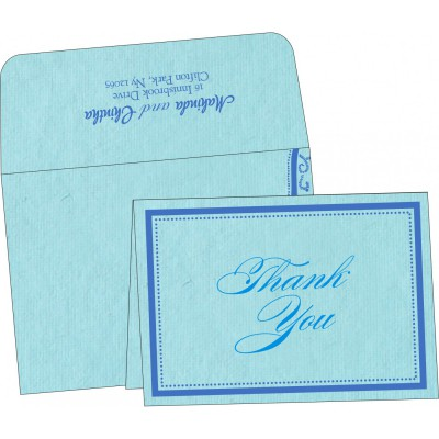 Thank You Cards - TYC-8219N