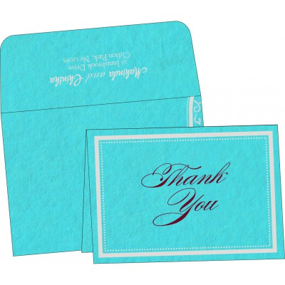 Thank You Cards - TYC-8219P
