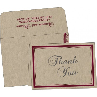 Thank You Cards - TYC-8219Q
