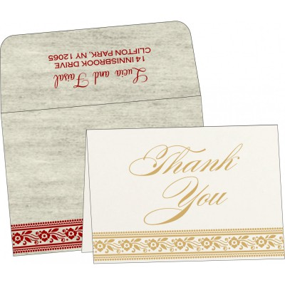 Thank You Cards - TYC-8220I