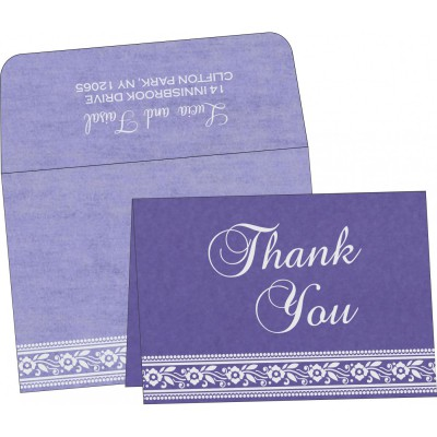 Thank You Cards - TYC-8220P