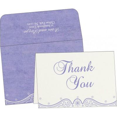 Thank You Cards - TYC-8221E