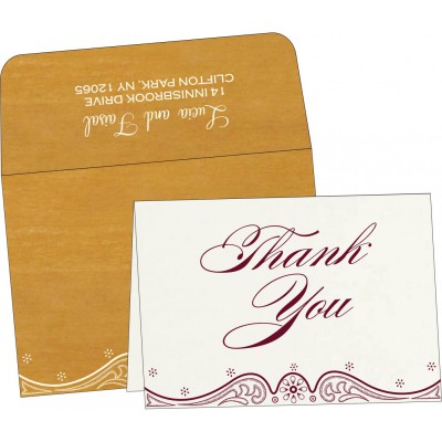 Thank You Cards - TYC-8221H