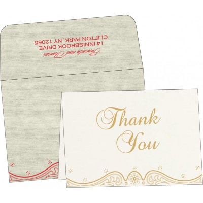 Thank You Cards - TYC-8221I