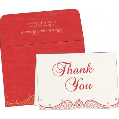 Thank You Cards - TYC-8221J