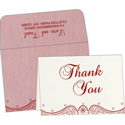 Thank You Cards - TYC-8221M
