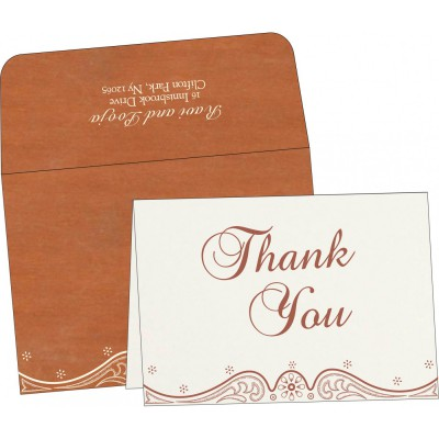 Thank You Cards - TYC-8221O
