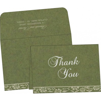 Thank You Cards - TYC-8222D