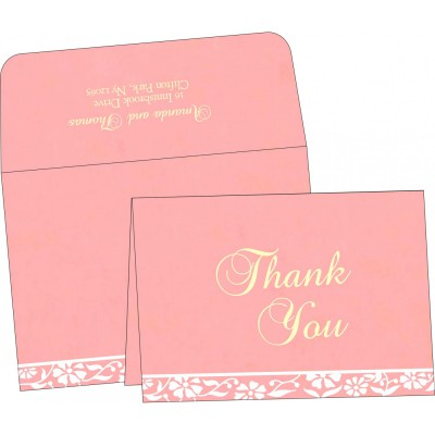 Thank You Cards - TYC-8222E