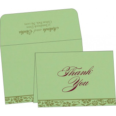 Thank You Cards - TYC-8222G