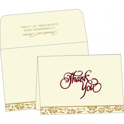 Thank You Cards - TYC-8222I