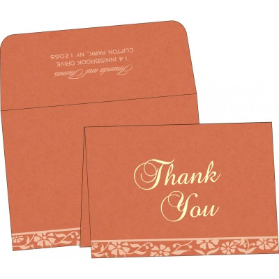 Thank You Cards - TYC-8222P