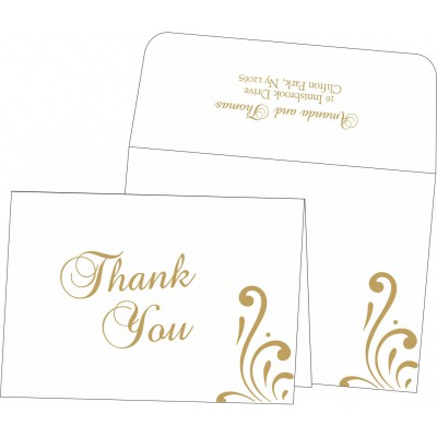 Thank You Cards - TYC-8223D