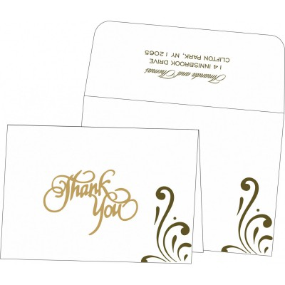 Thank You Cards - TYC-8223I