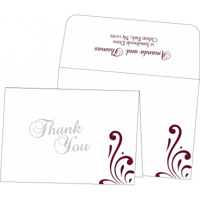 Thank You Cards - TYC-8223J