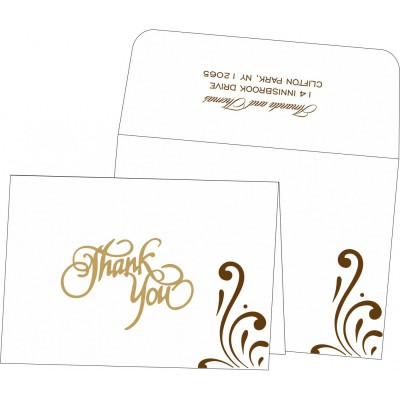 Thank You Cards - TYC-8223O
