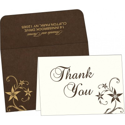 Thank You Cards - TYC-8225C