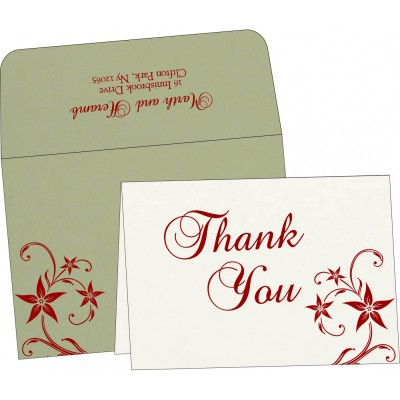 Thank You Cards - TYC-8225E