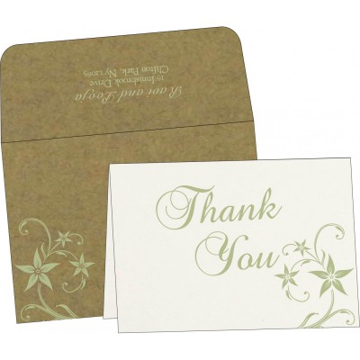 Thank You Cards - TYC-8225F