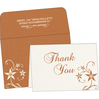 Thank You Cards - TYC-8225J