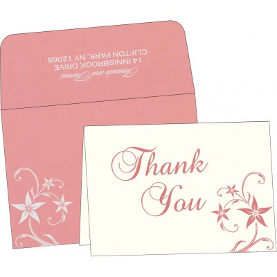 Thank You Cards - TYC-8225M