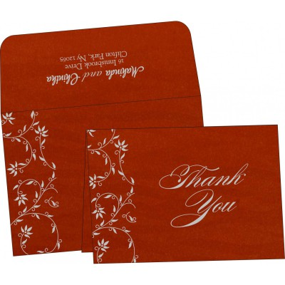 Thank You Cards - TYC-8226I