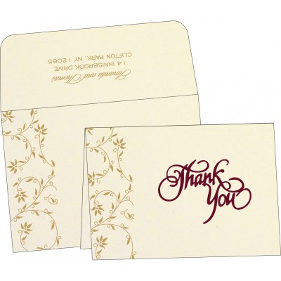 Thank You Cards - TYC-8226L