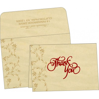 Thank You Cards - TYC-8226S