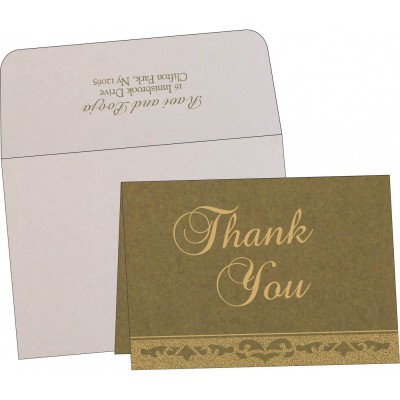Thank You Cards - TYC-8227F