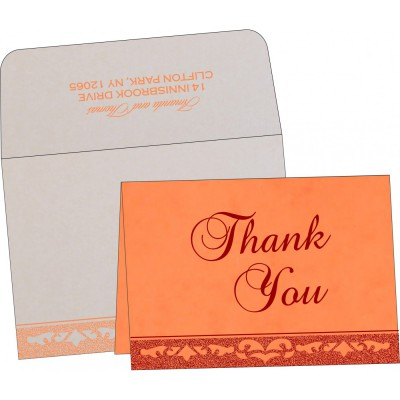 Thank You Cards - TYC-8227N