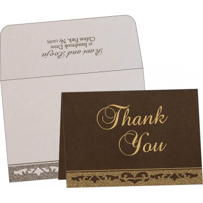 Thank You Cards - TYC-8227P