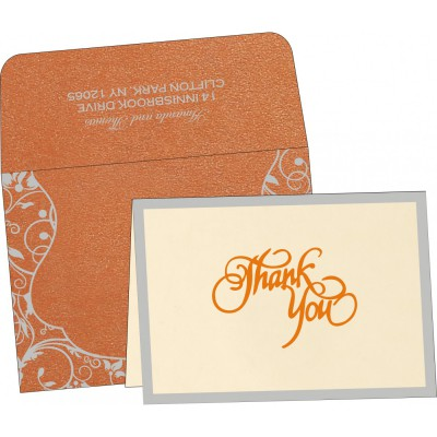 Thank You Cards - TYC-8229I