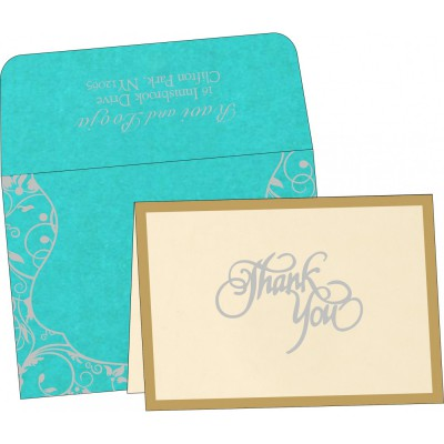 Thank You Cards - TYC-8229M