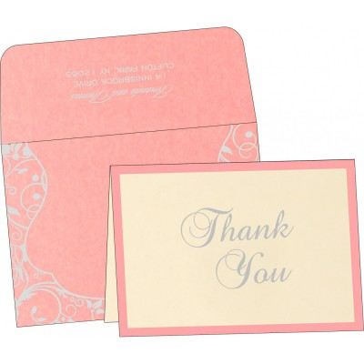 Thank You Cards - TYC-8229Q