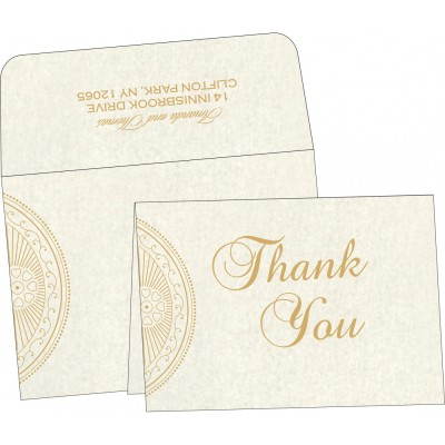 Thank You Cards - TYC-8230O