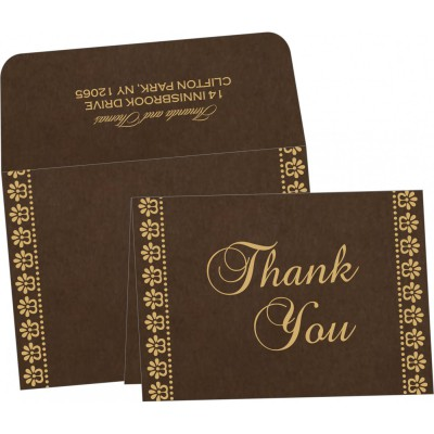 Thank You Cards - TYC-8231D