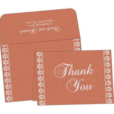 Thank You Cards - TYC-8231E