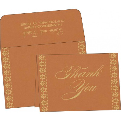 Thank You Cards - TYC-8231H