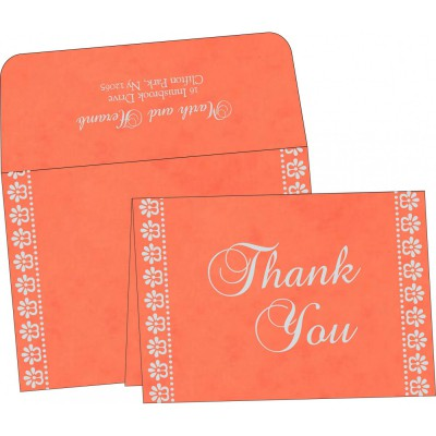 Thank You Cards - TYC-8231M