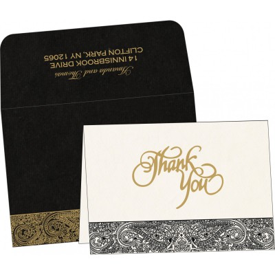 Thank You Cards - TYC-8234A