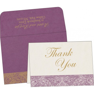 Thank You Cards - TYC-8234D