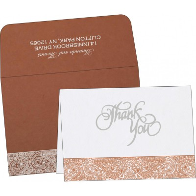 Thank You Cards - TYC-8234F