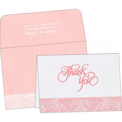 Thank You Cards - TYC-8234G